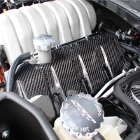 Charger SRT8 6.1L Engine Covers - 06-10