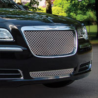 Chrysler 300 Chrome Dual Weave Mesh Grille - 2011+