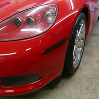 Corvette Front Smoked Side Markers - 05+