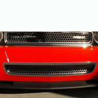 Challenger Polished Grille Lower Trim Ring - 08-13