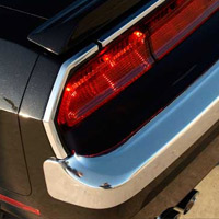 2008-2012 Challenger Retro USA Tail Light Surrounding Molding