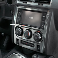 Challenger 5.7 - SRT 8 Brushed Dash Trim Plate - 08-14