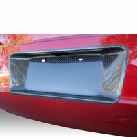 Charger Carbon License Plate Cover - 06-10