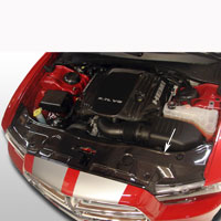 Charger Radiator Cover - 11 & Up