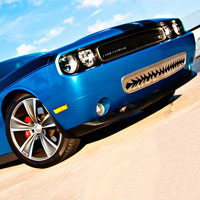 Challenger 5.7/SRT 8 Shark Tooth Lower Front Grille - 2008-2010