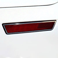 Challenger Side Marker Trim 4Pc Polished - 2008-2014