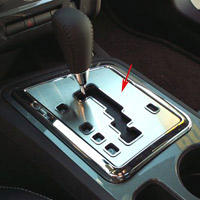 Challenger 5.7 and SRT 8 Shifter Plate Brushed Auto - 08-14