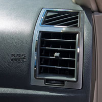 Chrysler 300, Charger & Magnum 2pc A/C Vent Trim - 05-10