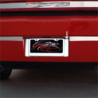 Challenger 5.7 & SRT 8 Polished Tag Back Plate - 2008-2014