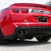 Camaro ZL1 25 pc Polished Rear Valance Trim Kit - 12 & Up