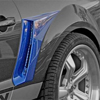 Shelby Mustang CS6 Side Scoops - 05-07
