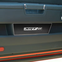 "Challenger 2pc Carbon/Fiberglass Door Badge Plate w/""SRT8""-08-13"