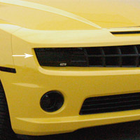 2010+ Camaro Smoked Headlight Covers