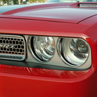Challenger Headlight Surrounds Brushed - 2008-2014