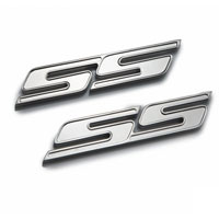 "Camaro Chrome or Black ""SS"" Badges - 2010"