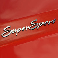 Camaro Super Sport Polished Exterior Stainless Emblem Trim-10-12