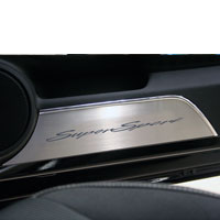 Camaro 2pc Door Panel Kick Plates Super 'Sport' Style - 10-13