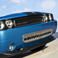 Challenger 5.7/SRT 8 Shark Tooth Lower Front Grille - 11-12