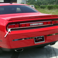 Challenger Taillight Outer Trim Plate - 08-13