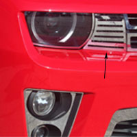 Camaro ZL1 2pc Front Bumper Turn Signal Cover - 12 & Up