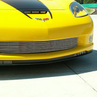Z06, GS, ZR-1, Polished Aluminum Billet Grille