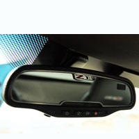 Corvette Z06 505HP Rear View Mirror Trim - 06-12