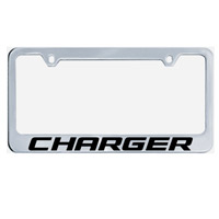 Charger License Plate Frame