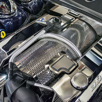 Challenger SRT 392 6.4L Perforated Plenum Cover - 2015