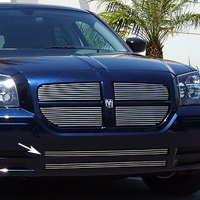 2 Piece Overlay Lower Billet Grille - 05-08