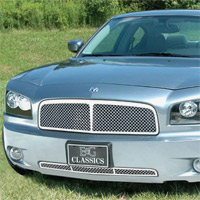 Charger E&G Classics Chrome Center Bar Mesh Grille - 2006-2010