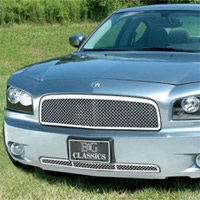 Charger E&G Classics Chrome Heavy Mesh Replacement Grille- 06-10