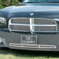 Charger E&G Classics Chrome Dual Weave Mesh Grille - 2006-2010