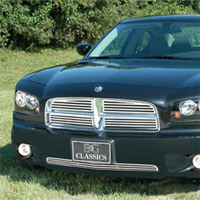 "Charger E&G Classics Stainless Steel Quarter ""Z"" Grille - 06-10"