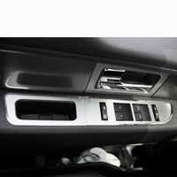Ford F150/Raptor 8pc Door Arm Controls Brushed -2010-2014