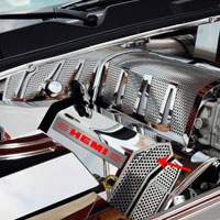Challenger/Charger/Magnum/300 Fuel Rail Covers HEMI Illuminated