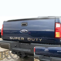 F250, F350 or F450 Super Duty Stainless Steel Tailgate Inserts