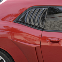 Dodge Challenger GTS Quarter Window Louvered Cover - 08-13