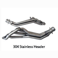 "Mustang GT500 1-3/4"" Exhaust Headers/Short X-pipes - 07-12"