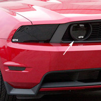 2010-2013 Mustang GT Smoked Fog Light Covers
