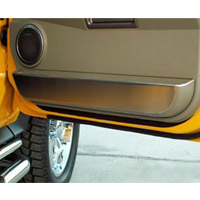 H2 Front Brushed Door Guards