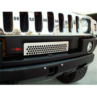 Hummer H2 Polished Stainless Front Lower Grille