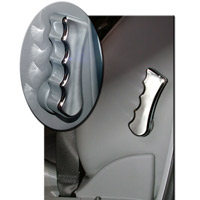 2008+ Challenger Lumbar Lever Covers