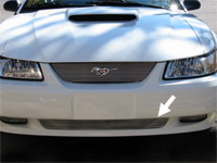 Lower Billet Grille - 1999-2004 Mustangs