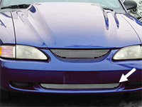 1994-1998 Mustang & Cobra Lower Billet Grille