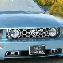 "Mustang GT ""Z"" Grille by E&G Classics - 2005-2009"