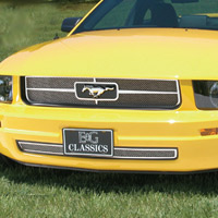 Mustang V6 Heritage Grille by E&G Classics - 2005-2009