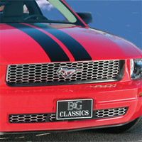 "Mustang V6 ""Z"" Grille by E&G Classics - 2005-2009"