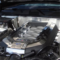Mustang 9pc Polished/Brushed Engine Shroud Covers - 11-13