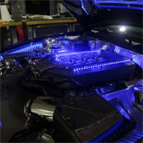 Mustang 9pc Illuminated Engine Shroud Covers - 11-14