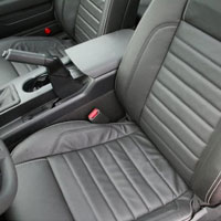 Mustang GT & V6 Convertible Leather Seat Cover Kit - 2011
